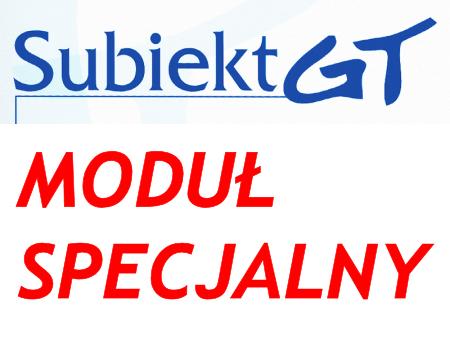 moduł specjalny z wykorzystaniem Sfery dla Subiekt GT